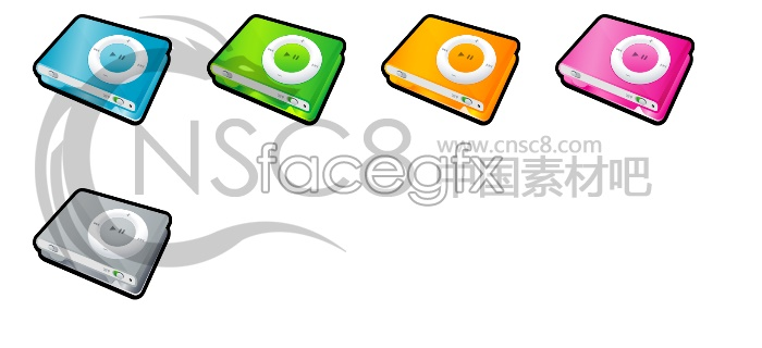 IPod MP4 icons