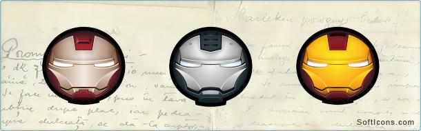 Iron Man Avatars Icons