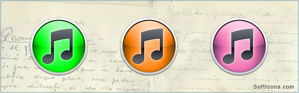 iTunes 10 Icons
