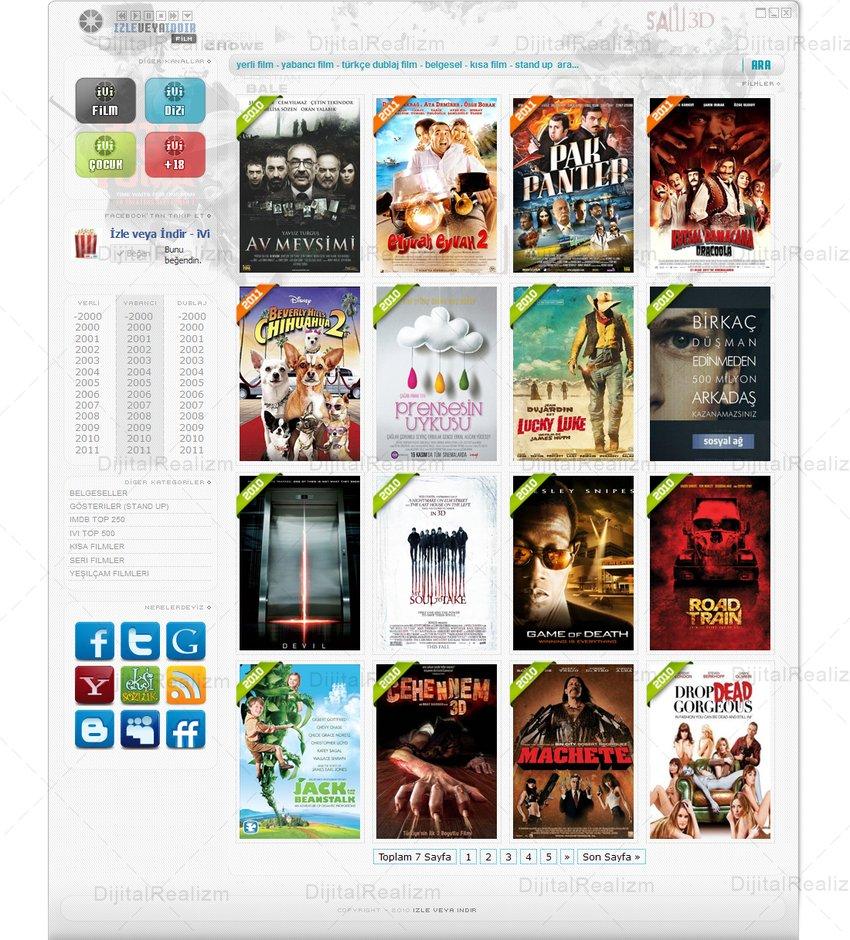 ivi – Film sitesi anasayfa