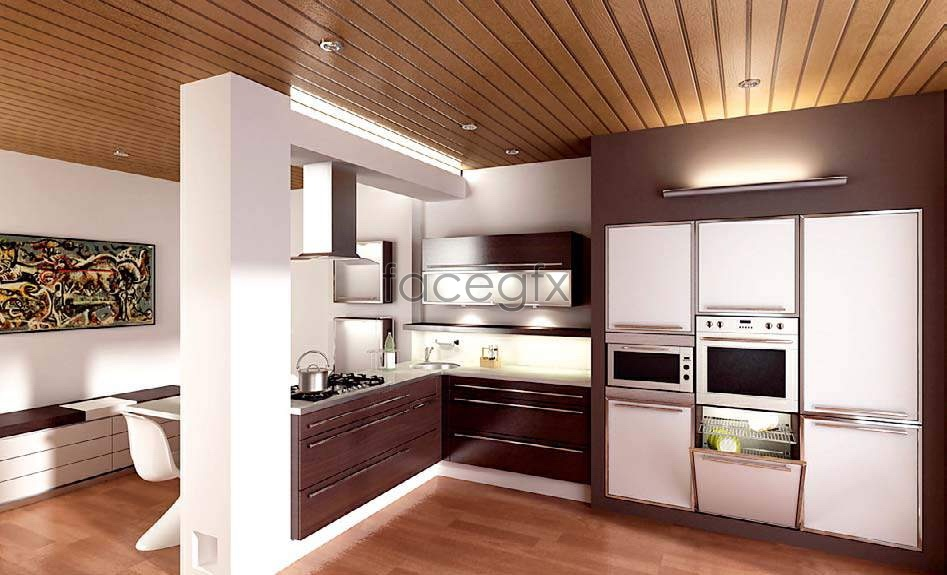 Kitchen picture 1 3D model