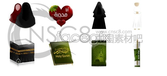 Koranic culture icons