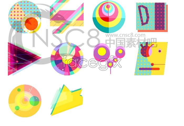 Korea color desktop icons