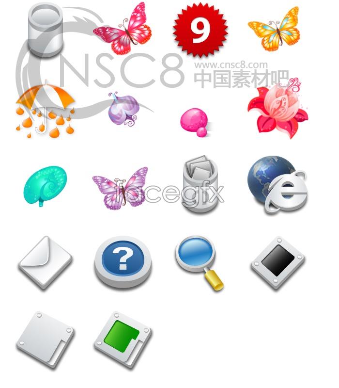 Korea computer icons