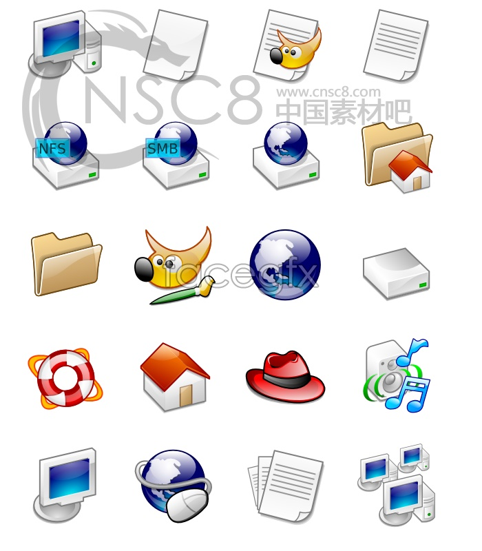 Linglong system icons