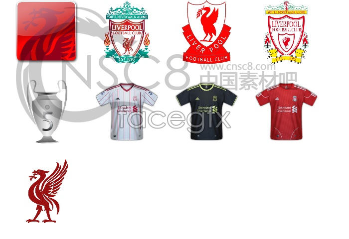 Liverpool team icons