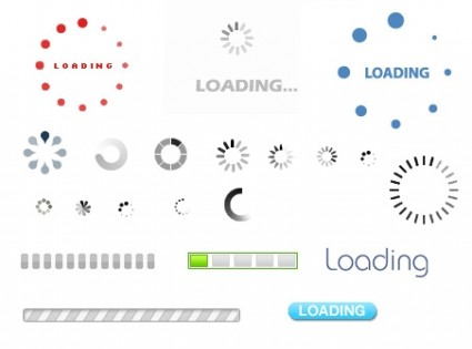 Loading Animated Gif icons pack