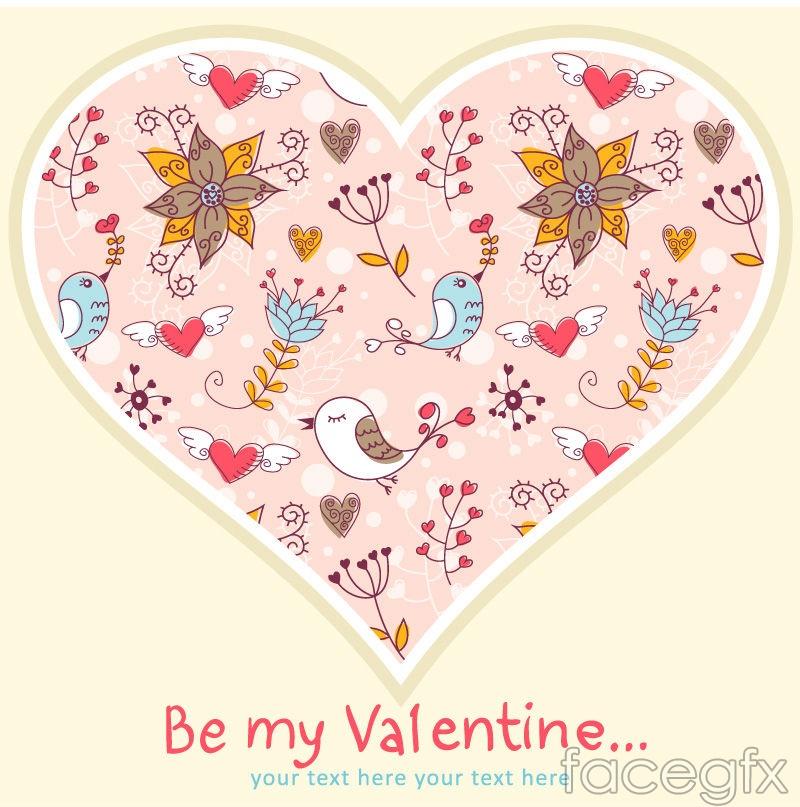 Love cartoon painting vector
