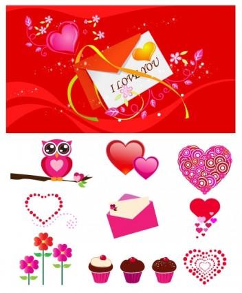 love element vector