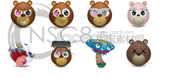 Lovely QQ bear icon