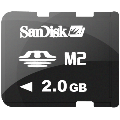 M2 Memory Card Icon PNG