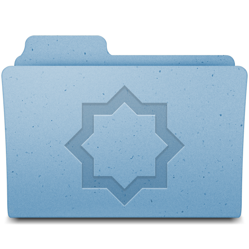 Mac OS Folder Stuff icon
