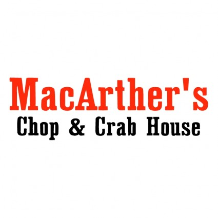 macarthers chop crab house logo
