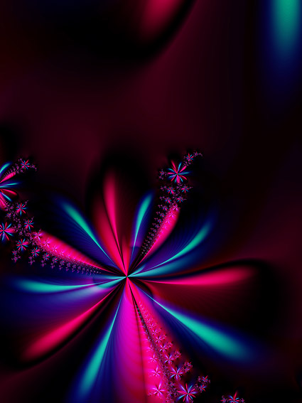 Magic flower background picture material-3