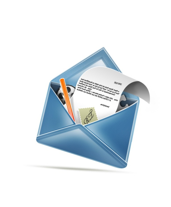 Mail the envelope icon
