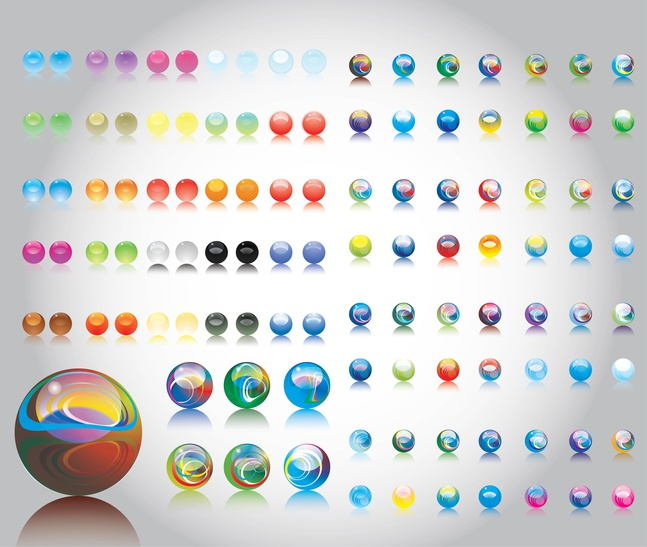 Marbles vector free