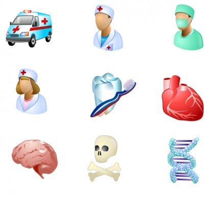 Medical Icons for Vista icons pack