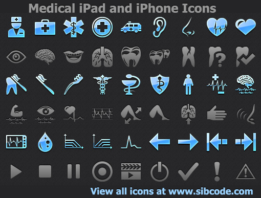 Medical iPad and iPhone Icons 2011.2