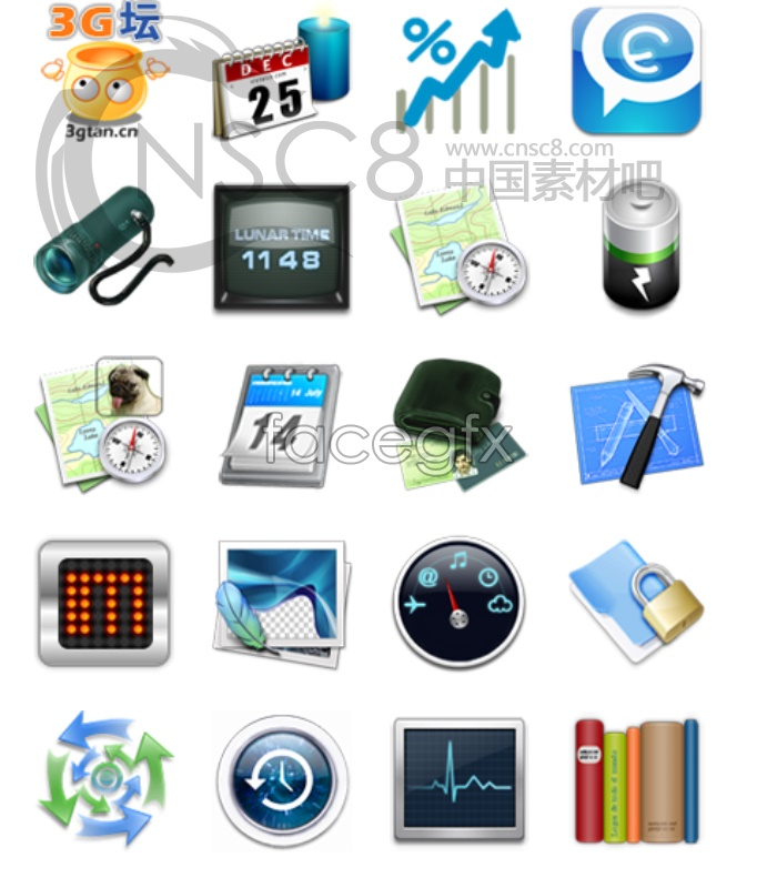 Meizu phone desktop icons