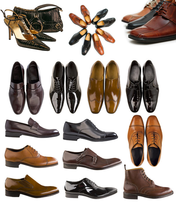 Men's shoes and sachet  -HD pictures