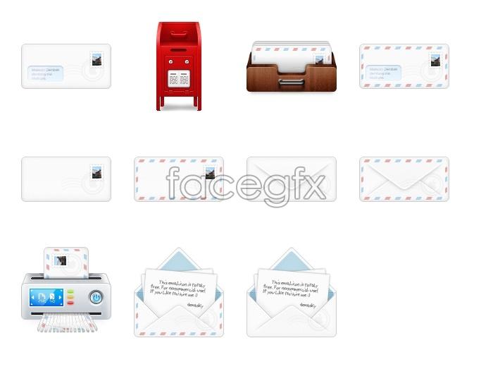 Message series desktop icons