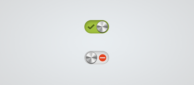 Metal Toggle Switch PSD