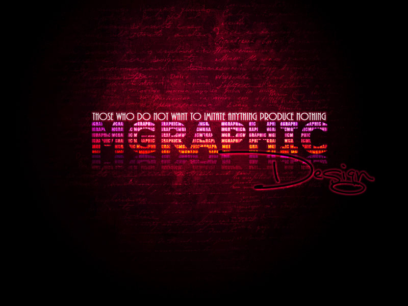 MGraphic Design Wallpaper