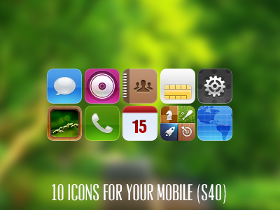 Mitters icons (mobile)