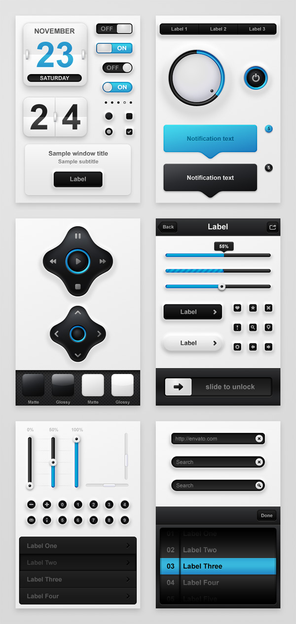 Mobile app software interface