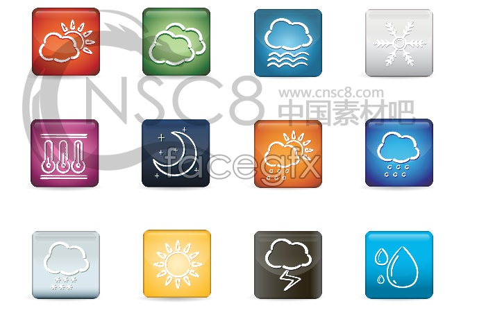 Mobile weather desktop icon