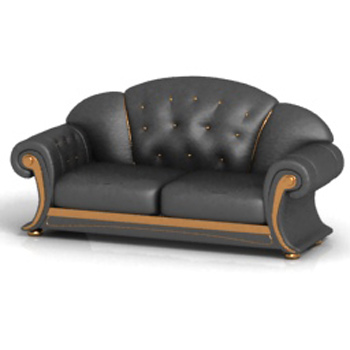 More Than Old Fashioned Leather Sofa 3d Model Over Millions