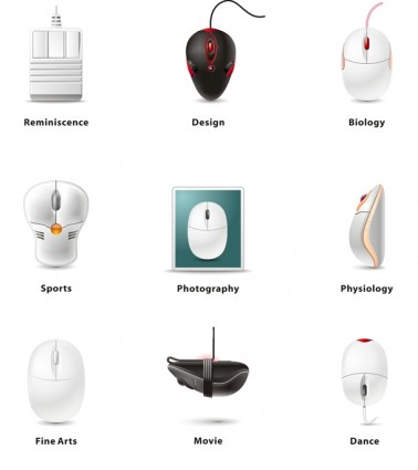 Mouse category Season 03 icons pack