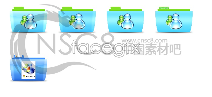 MSN folder icons