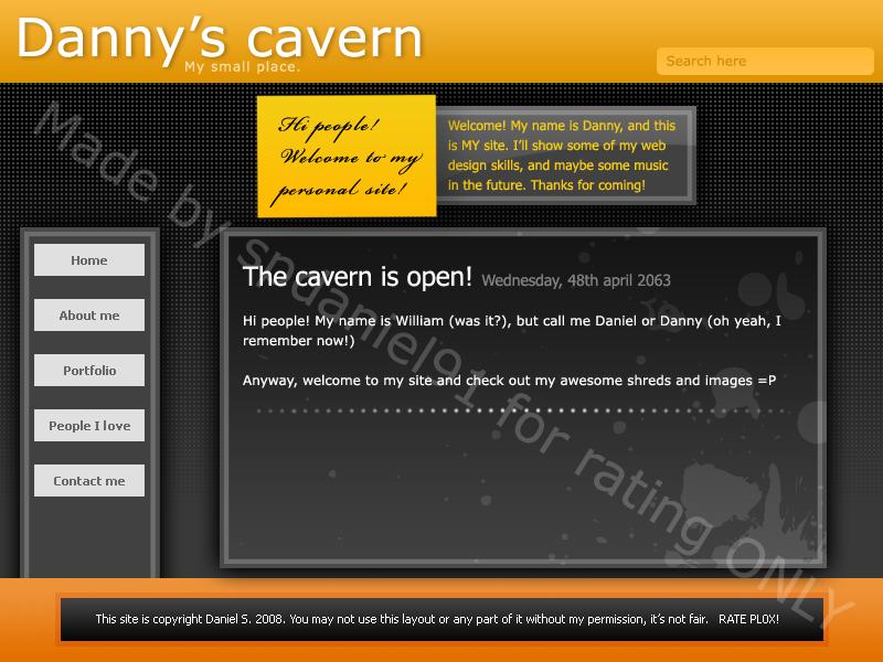 My carvern