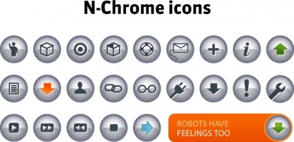 N-chrome icons icons pack