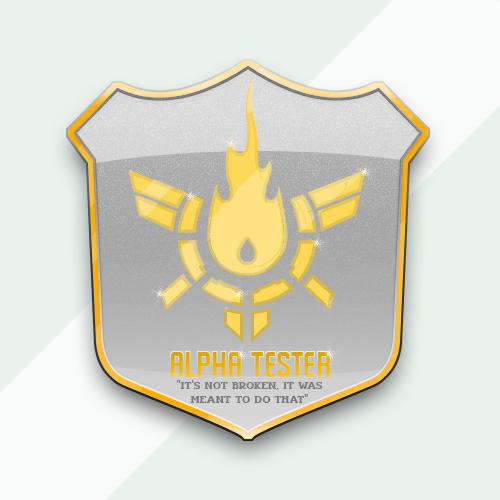 Napalm Alpha Badge