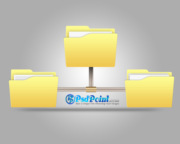 Network File Sharing Folder Icon