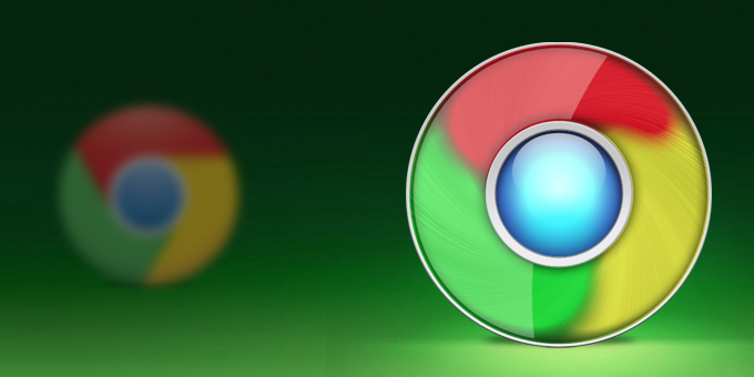 New Google Chrome Icon Revisited PSD