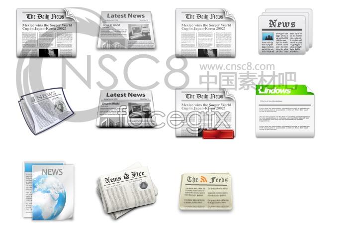 Newspaper your desktop icons