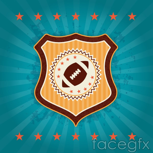 NFL Shield logo vector