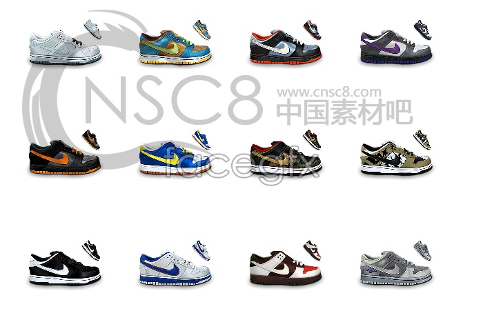 Nike shoes the desktop icons