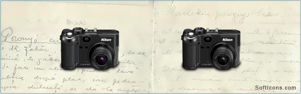 Nikon Coolpix Camera Icon