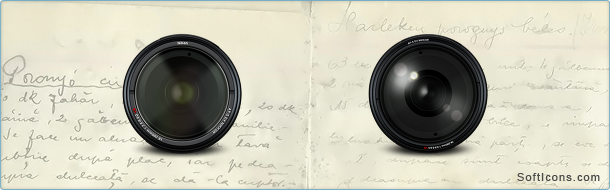 Nikon Lens Icons