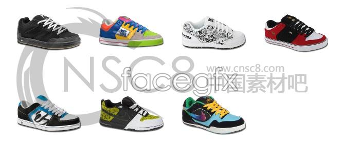 Non-mainstream shoe icons