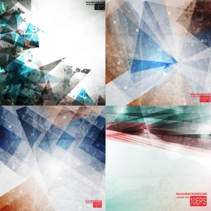 nostalgia of the color line background vector