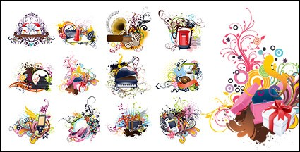 Number of items with the trend of the pattern vector material-2