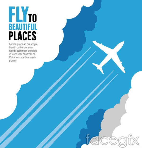 Of aircraft through the clouds vector over millions vectors stock of aircraft through the clouds vector free download of aircraft through toneelgroepblik Gallery