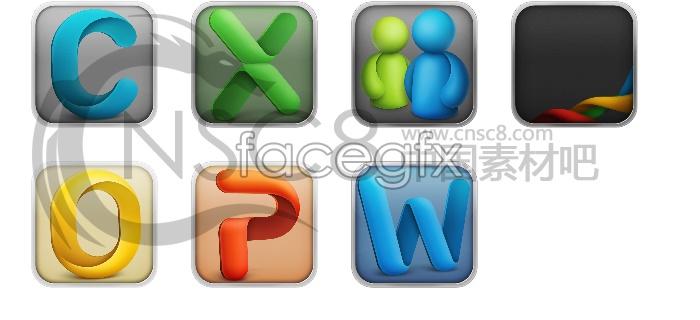 OFFIC2011 desktop icons