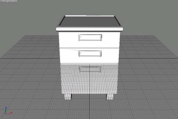 Office  furniture 014-99 3D Model