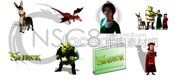 OGRE Shrek icons